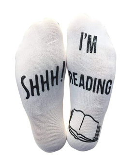 Shh! I'm Reading Socks